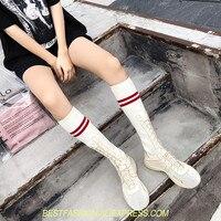 Для женщин носок сапоги кроссовки эластичные Высокие сапоги слипоны ботильоны на высоком каблуке женские туфли лодочки на шпильках Botas пов
