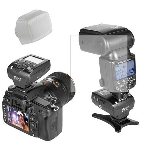 Майке mk 910 Вспышка Speedlite + mk gt600 TTL HSS триггера + приемник для Nikon D800 D7100 D90 D700 D5 D600