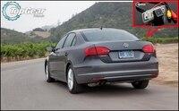 Otomobiller ve Motosikletler'ten Araç Kamerası'de Araba Kamera Için Volkswagen VW Jetta MK6 A6 1B/Sagitar 2011 ~ 2015 Yüksek Kaliteli Dikiz geri görüş kamerası Için fanlar   CCD + RCA