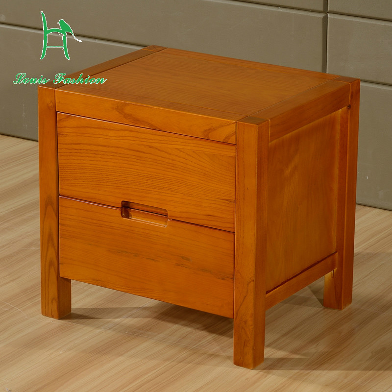 Simple Bedroom Furniture: Louis Fashion Nightsatands Simple Bedside Table Fraxinus