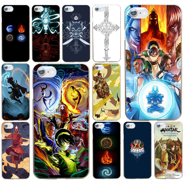 36ad Avatar The Last Airbender Hard Transparent Cover Case For