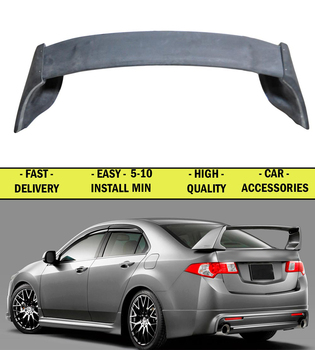 Spoiler case for Honda Accord VIII 2008-2010-2012 ABS plastic decor sports styles car accessories aerodynamic wing car styling