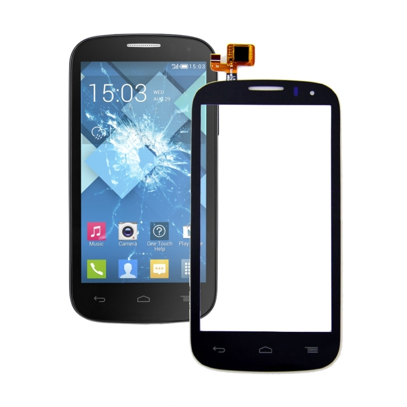 Touch screen Touch Panel for <font><b>Alcatel</b></font> One Touch Pop C5 Dual / <font><b>5036D</b></font> Touch Screen Digitizer Sensor Lens Front Glass Replacement image