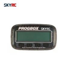 SKYRC SK-300046 PROGBOX шесть-в-одном для RC модель ESC установка сервопривод двигатель KV/RPM тестер Lipo батарея мониторы
