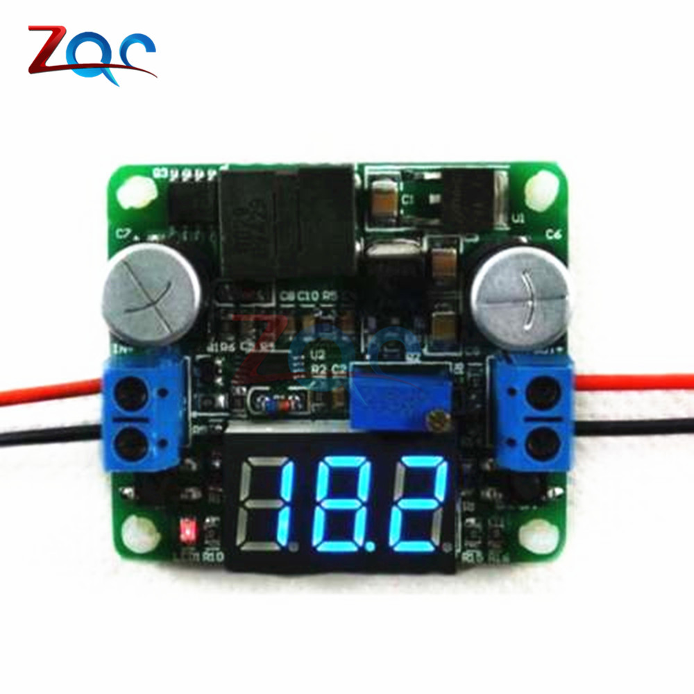 25W 2A DC 5-25V 12V to 0.5v-25V 24V Voltage display DC-DC Adjustable Step up down Power Supply boost and buck converter Module 5 pcs dc dc adjustable boost module 2a boost plate 2a step up module with micro usb 2v 24v to 5v 9v 12v 28v mt3608 lm2577