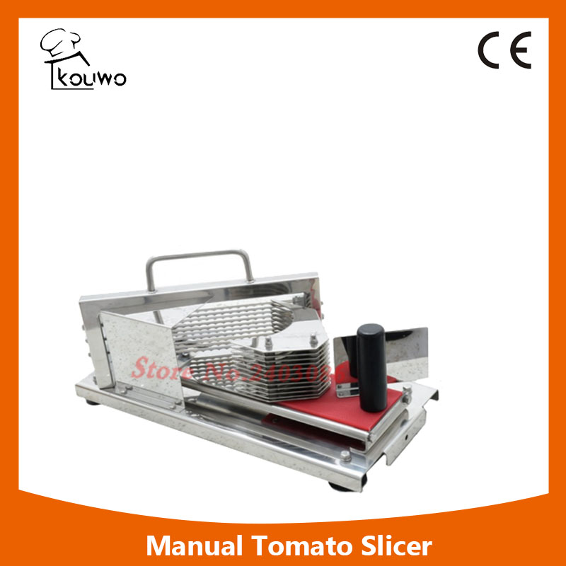 High Quality Commercial Tomato Cutter Slicer Stainless Steel Commercial Easy Tomato Slicer,Fruit Cutting Machine glantop 2l smoothie blender fruit juice mixer juicer high performance pro commercial glthsg2029
