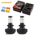 60w/pair H4 HB2 9003 H13 Hi-lo Beam 6000lm LED Headlight Bulb 6500k H3 H11 H9 H7 9005 9011 HB3 9006 HB4 40w/pair LED Lamp Bulb