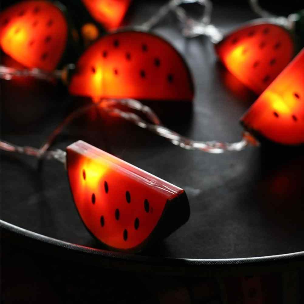 LanLan красивый красочный арбузный светодиодный светильник-гирлянда, украшение для рождества, Хэллоуина, фестивалей, детской комнаты, вечерние, новогодние