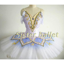 mild blue skilled ballet tutus ladies, ballerina nutcracker stage ballet costumes, grownup classical ballet costume customized made