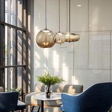 Скандинавское стекло, светодиодный подвесной светильник, светильник s, подвесной светильник, светильник, современный подвесной потолочный светильник, люстра, светильник ing XD9CV3