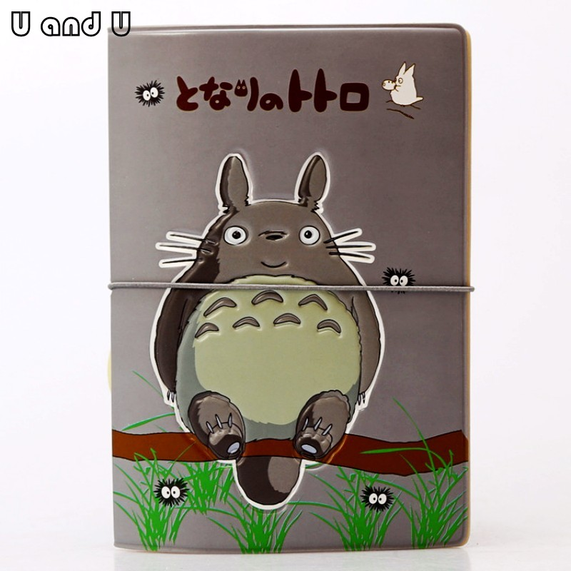 UandU Cartoon Passport Cover for Travel,PU Leather credit card holder with size 14*9.6 cm,passport holder -MyNeighbor Totoro pu cartoon travel accessories passport cover with size 5 5 3 8 minions