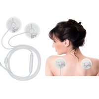 Mini Massage Stickers Electronic Pulse Massager USB Charge Pulse Massage Application With 6 Modes Muscle Pain