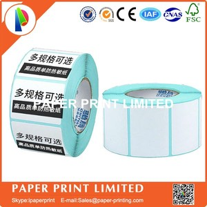Image 1 - 50 rolls 50 * 30 * 800 Thermal stickers label printing paper supermarket electronic bar code paper