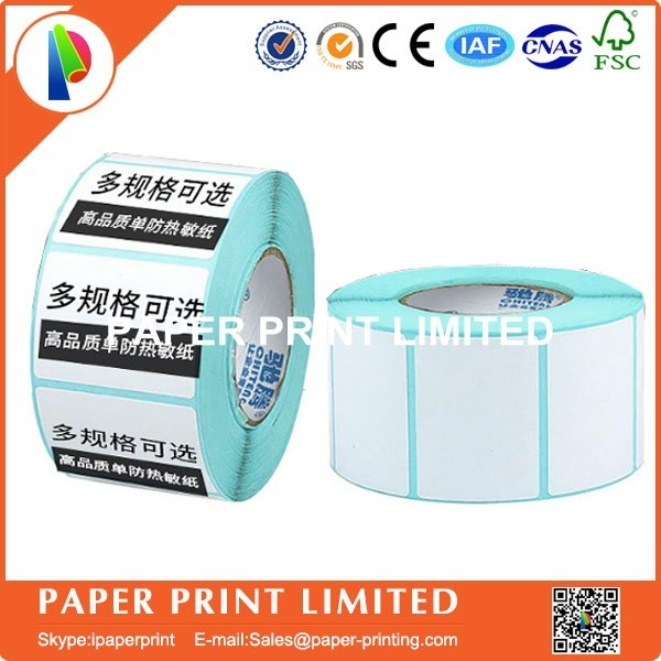 50 rolls 50 * 30 * 800 Thermal stickers label printing paper supermarket electronic bar code paper