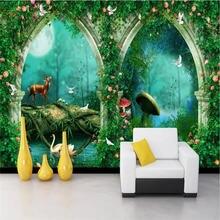 Пользовательские обои супер красивые мечты арки сказка лес ТВ