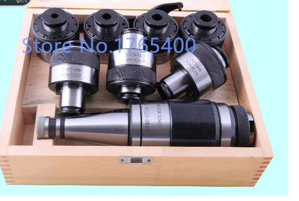 New NT40-GT24  tapping chuck  and 11pcs GT24 tapping collets (M5-M24)  CNC Milling  tool new bt40 er32 floating tap holder bt40 tapping collet chuck cnc milling and turn