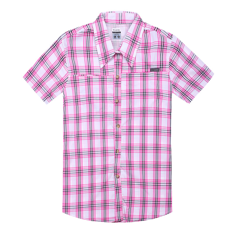 Camisa Xadrez Feminina Female Summer Plaid Short Sleeved Shirts Cotton Blouse Women Stretch Blusas Manga Corta Mujer Talla Grand