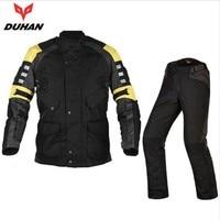 NEW DUHAN D115 DK015 Winter Keep Warm Multi Function Motocross Jacket Motorcycle Racing Jacket Pants