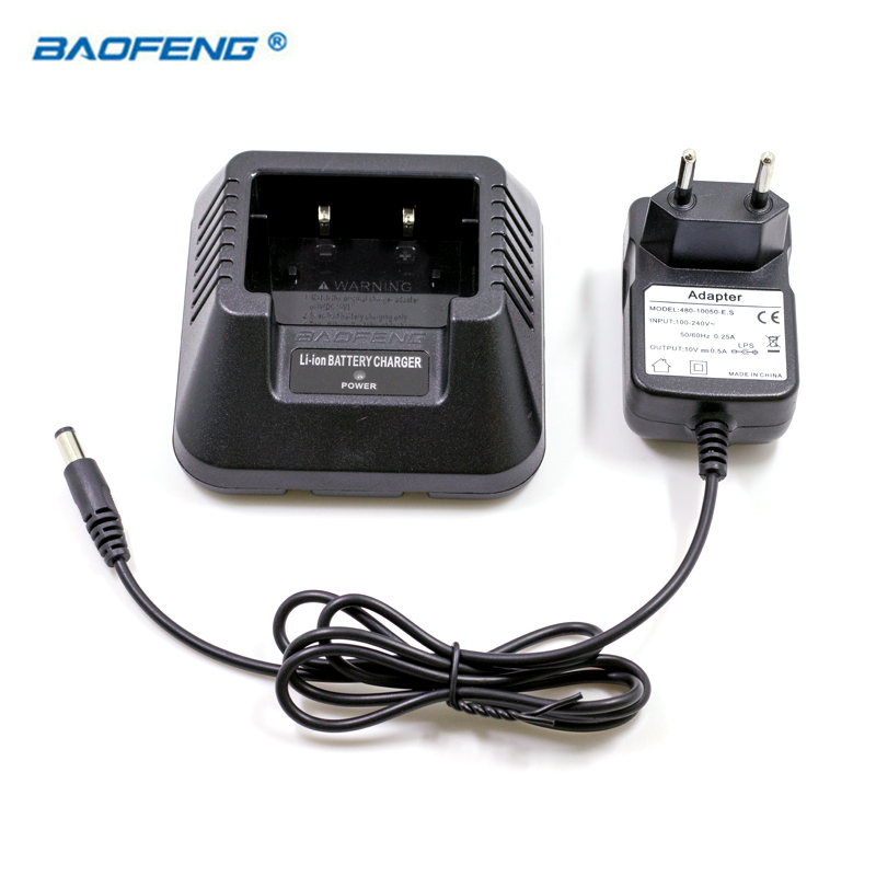 Radio Walkie Talkie BAOFENG Battery EU US UK AU Desktop Charger Fit For BAOFENG UV-5R UV-5RA 5RB UV-5RE Plus Baofeng Accessories