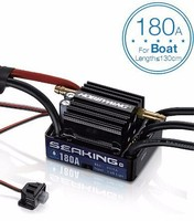 Hobbywing SeaKing 30A/60A/120A/180A V3 Brushless ESC RC motor ESC 6V/1A/2A/5A BEC untuk RC Boat Electronic speed controller