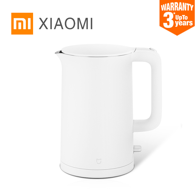 $ US $30.98 2019 New XIAOMI MIJIA Electric kettle fast boiling stainless teapot samovar kitchen Water Kettle Mi home 1.5L Insulation