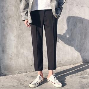 Image 4 - 2018 Giapponese Del Cotone Degli Uomini di Casual Pantaloni Stile Harem Pantaloni di Tendenza di Modo di Stile di Hip Hop Sciolti di Grandi Dimensioni Nero/Cachi Pantaloni M 3XL