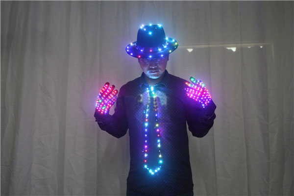 Men's LED Costume Clothes Michael jacket Cosplay Costume цены онлайн