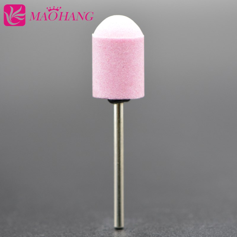 1 Handle+1cap Remove Calluses Nail Art Sanding Caps For Manicure Pedicure Electric Nail Drill Machine Nail Tools 5 Kind Size
