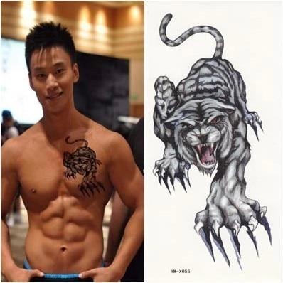 6pcs big tiger