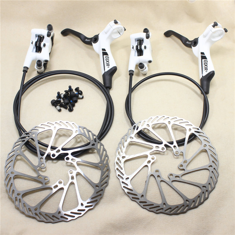 SRAM AVID Elixir 3 Mtb Bike Disc Brake Kit 700 / 1300 mm Bicycle Hydraulic brake With Rotors 160 mm Bike Accessory 2 Colors велосипедные тормоза sram avid sram 1 e1 db1 sram avid elixir 1 e1