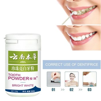 Yellow Tooth Smoke Stains Bright Whiteg Tooth Whitening Black Clean Tooth powder Toothpaste Tooth stains Q8 фото