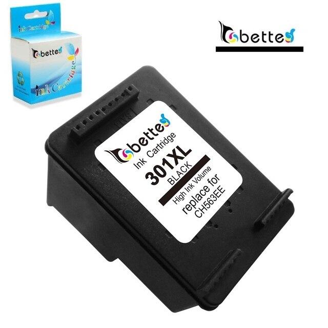 Black Ink Cartridge for HP 301 301XL hp301 Deskjet 1050 J410a J410c J410d 1051 1055 J410e 1056 2543 ENVY 5532 5534 5535 5539