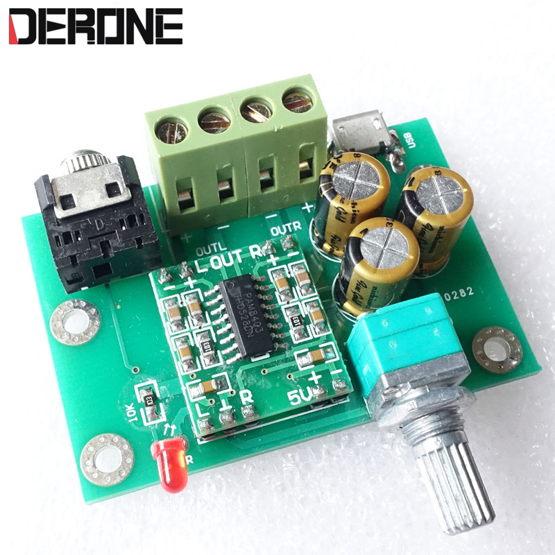Audio & Video Replacement Parts Operational Amplifier Chips Hifivv Audio Power Amplifier Board 2.0ch 3w Dc5v Input Moderate Price