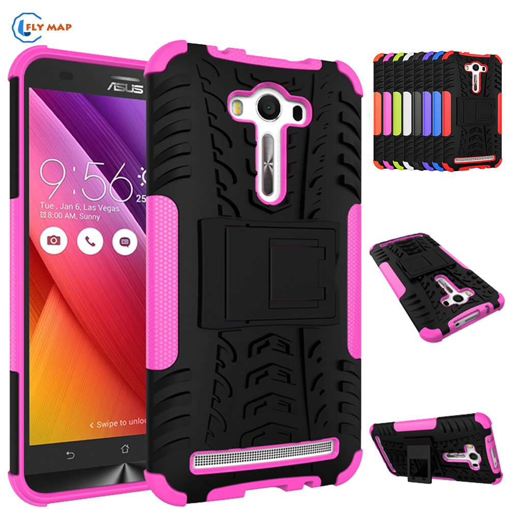 Coque For <font><b>ASUS</b></font> <font><b>Zenfone</b></font> <font><b>2</b></font> Laser ZE550KL ZE <font><b>550KL</b></font> ZE550 KL Plastic Box Silicone TPU Bracket Phone Case For <font><b>ASUS</b></font> Z00LD Z00T Cover image