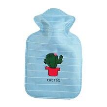 Мультяшная ручная бутылка для теплой воды милые мини-бутылки для горячей воды маленький портативный ручной подогреватель для инъекций воды сумка для хранения инструментов