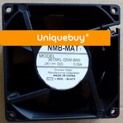 3615KL-05W-B60 0.55A 2line 24V for NMB Two Ball Bearing cooling fan sw 05w
