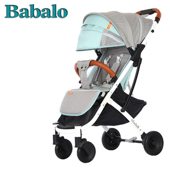 Babalo yoya Plus детская коляска Бесплатная доставка Сверхлегкий складной может сидеть или лежать высокий пейзаж подходит 4 сезона высокого спрос...