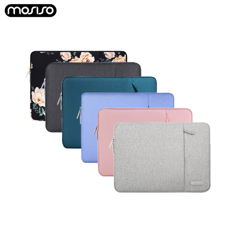 MOSISO Laptop Sleeve Bag 11.6 12 13.3 14 15.4 Inch Notebook Bag Sleeve For Macbook Air Pro Dell Asus HP Acer Laptop Case Cover