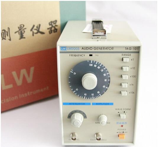 Fast arrival TAG101 Audio Generator Function Signal 10 to 1Mhz precision signal generator220V 10hz 1mhz low frequency function signal audio generator producer rek rag101