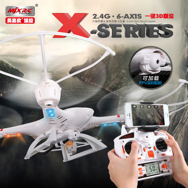 MJX X400 2.4G 6 Axis RC Quadcopter Drone Can Add C4005 HD Camera FPV Drone With Camera RC Helicopter For Adults