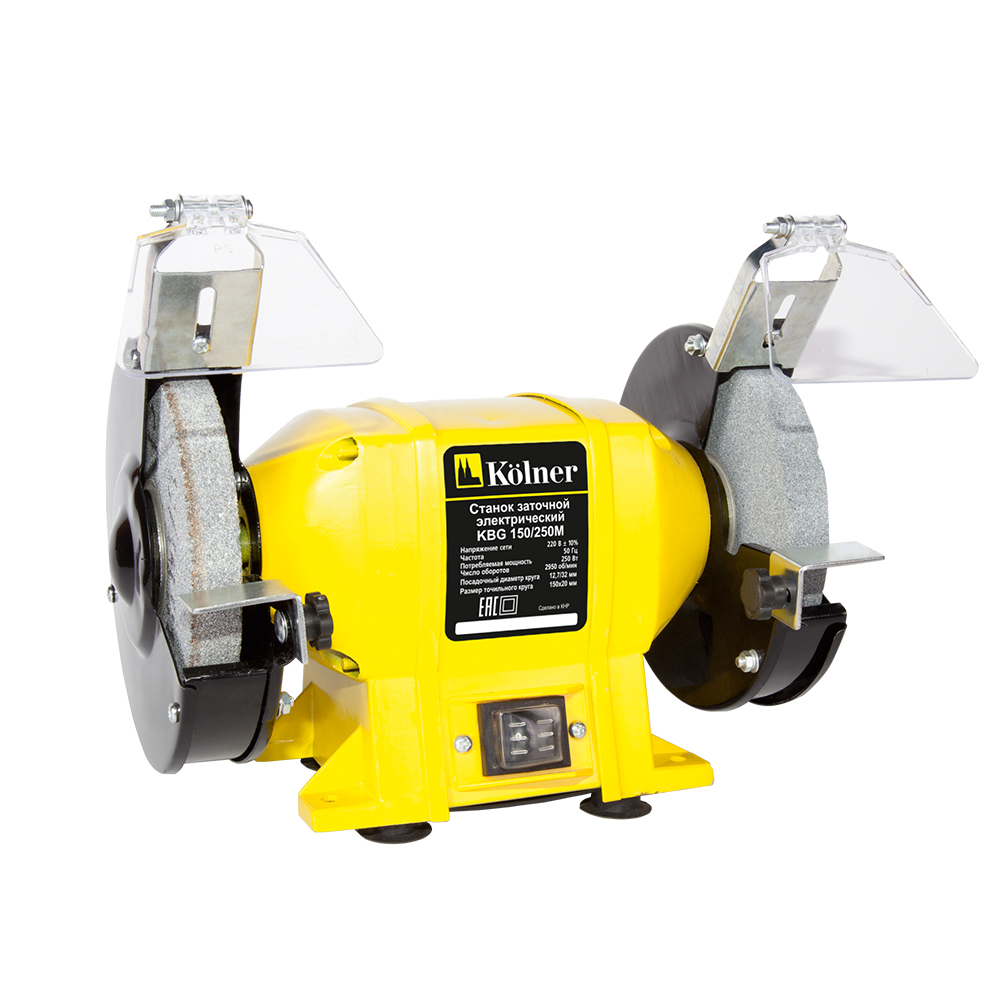 Bench grinder Kolner KBG 150/250 M bench grinder kolner kbg 200 370 m