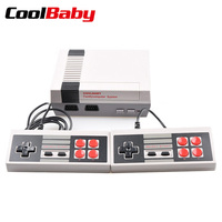 COOLBABY retro classic dual handheld game console video game console to TV HDMI /AV output built in 600/500 children's gift game