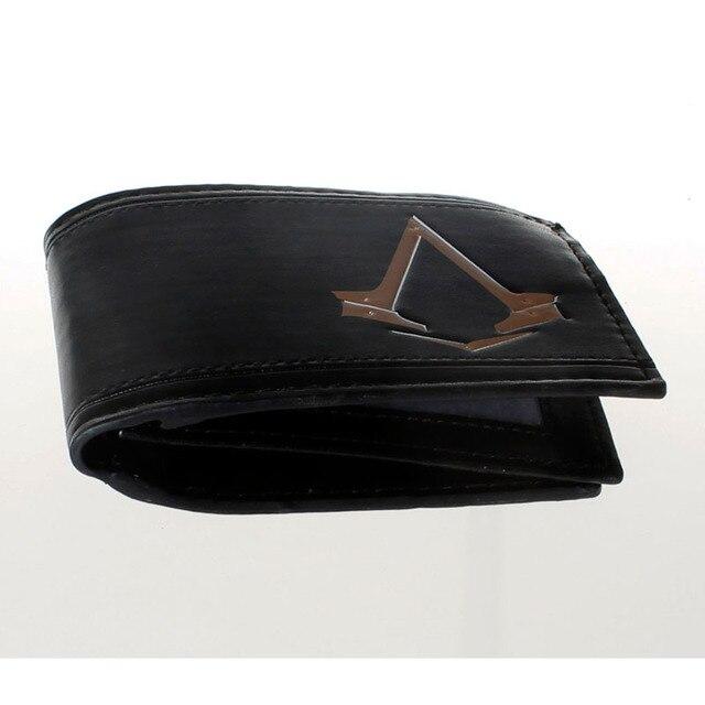 Кошелек черный Кредо убийцы модель №7 3