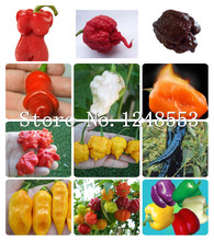 200pcs Hot Carolina Reaper Pepper Seeds