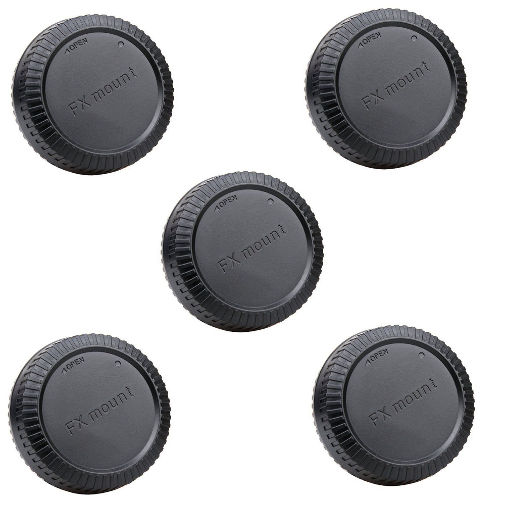 5pcs Rear Lens Cap Cover for Fujifilm Fuji FX X Mount X-Pro 1 X-E1 X10 XF1