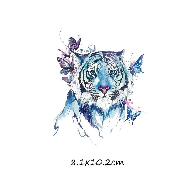 Милый мультфильм животных Комбинации гладить на патч ручной работы термоприклеивание, наклейки для Костюмы значки аппликаций для украшения из ткани - Цвет: J-61-17