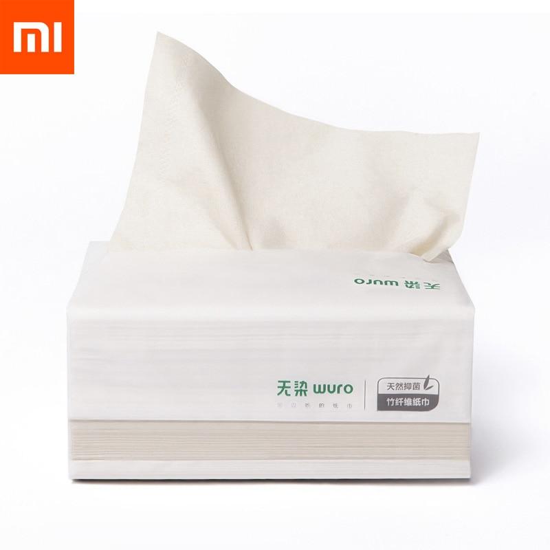 PüNktlich 390 Stücke Xiaomi Mijia Wuro Antibakterielle Tissu Papier Holz Material Papier Serviette Wc Papier Für Kinder Familie RegelmäßIges TeegeträNk Verbessert Ihre Gesundheit