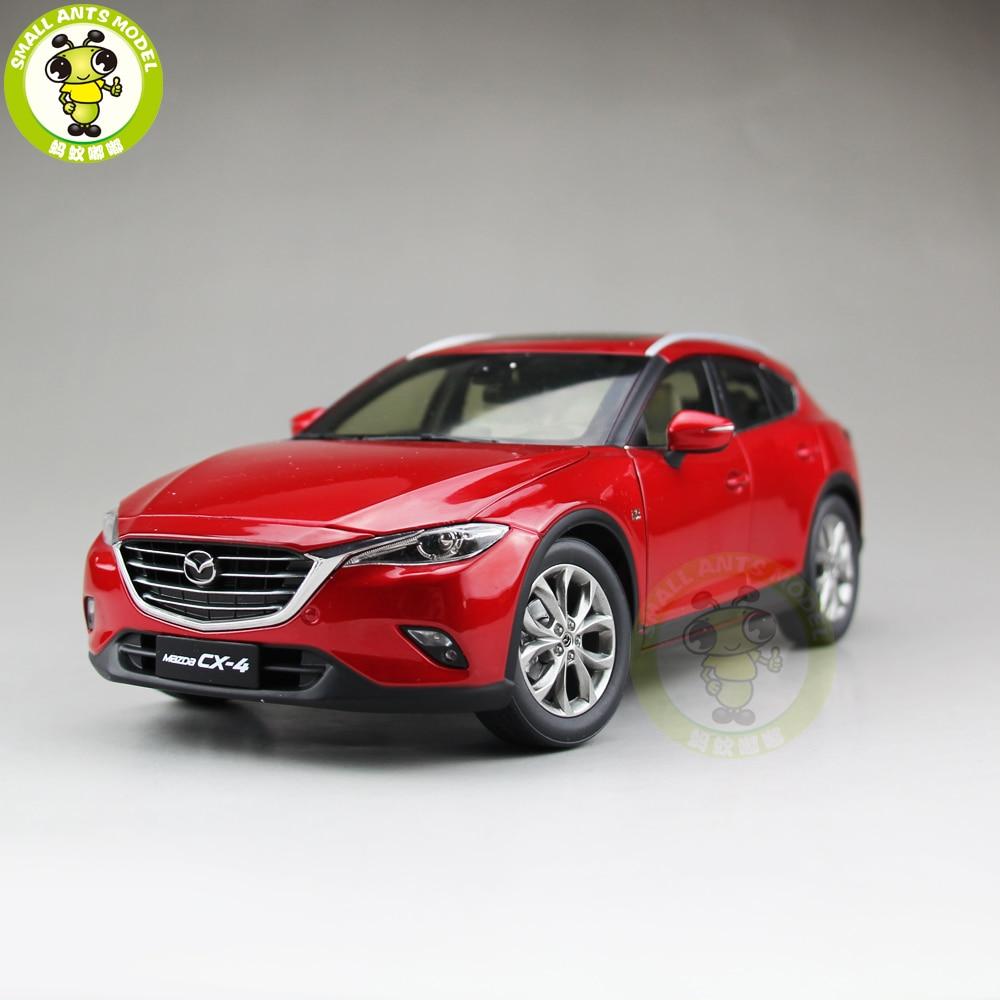 1/18มาสด้าCX 4 SUV D Iecastรถเอสยูวีรุ่นของเล่นเด็กสาวของขวัญคอลเลกชันสีแดง-ใน โมเดลรถและรถของเล่น จาก ของเล่นและงานอดิเรก บน   1
