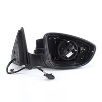 OEM Rearview 16D857508F9B9 Right Side Wing Mirror Assembly for VW Jetta MK6