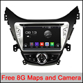 HD 8 inch 1024x600 Quad Core Android 5.1.1 Auto PC Android 5.1 Car DVD GPS For Hyundai Elantra 2011-2013 With WiFi DVR CANBUS